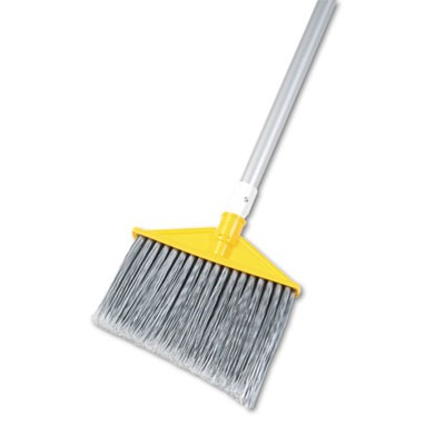 "Rubbermaid 6385 Brute Angled Broom 48-7/8"" - Silver/Gray"
