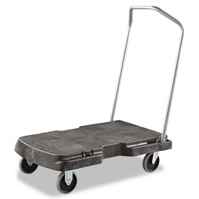 office trolley cart. Rubbermaid 4401 Home/Office Trolley 500-lb Capacity - Triple Carts  Material Handling Office Trolley Cart O