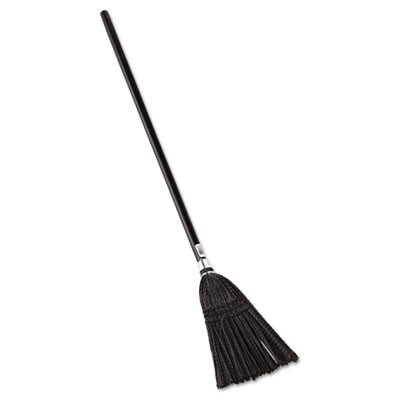 "Rubbermaid 2536 Lobby Pro Synthetic-Fill Broom, 37"" Handle"
