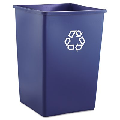 Rubbermaid 3958-73 Recycling Container 35 gallon - Blue