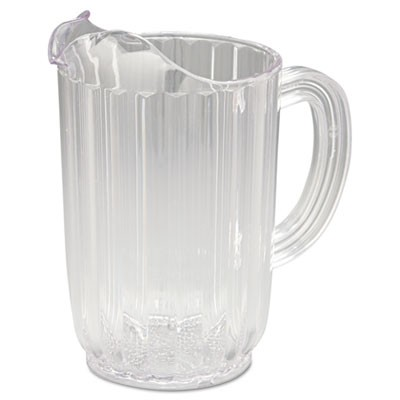Rubbermaid 3336 Bouncer Plastic Pitcher 32oz - Clear