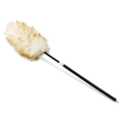 "Rubbermaid 9C04 Telescoping Lambswool Duster, 30-42"" Handle, Case of 6"