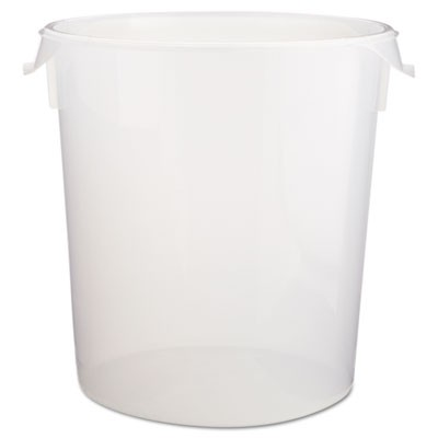 Rubbermaid 5728 24 Round Storage Container 22qt Clear Kitchen