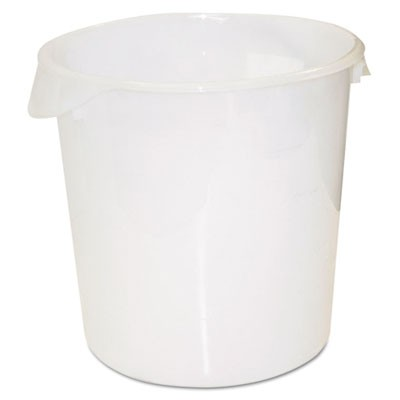 Rubbermaid 5728 Round Storage Container 22qt - White - Kitchen Supplies - Food Service  sc 1 st  Rubbermaid Wholesale : food service storage containers  - Aquiesqueretaro.Com