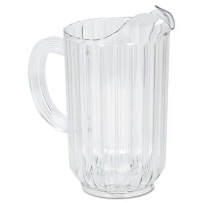 Rubbermaid 3335 Bouncer Plastic Pitcher, 48 oz - Clear