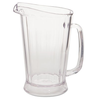 Rubbermaid 3331 Bouncer II Pitcher 48 oz - Clear