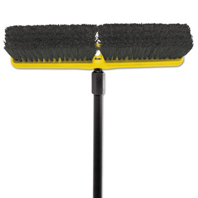 "Rubbermaid 9B07 Tampico-Bristle Medium Floor Sweep, 18"""