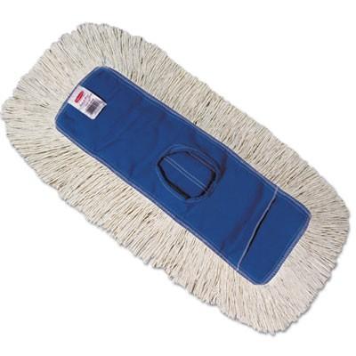 Rubbermaid K153-12 Kut-A-Way Dust Mop Head 12/Case - White