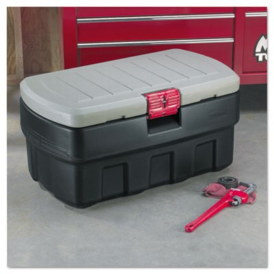 Rubbermaid 1192 01 ActionPacker Cargo Box 48 gal BlackGray