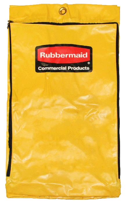 Rubbermaid 6183 Cleaning Cart Bag For 6173 88 Janitor