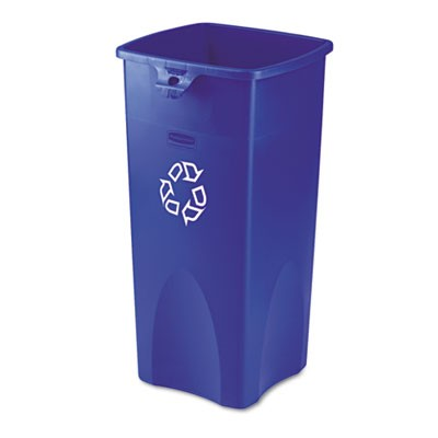 Rubbermaid 3569-73 Untouchable Recycling Container 23 gallon - Blue