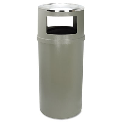 Rubbermaid 8182-88 Ash/Trash Container w/o Doors 25 gallon - Beige