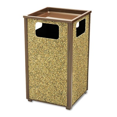 Rubbermaid R18SU-201PL Sand Urn/Litter Receptacle 24 gallon