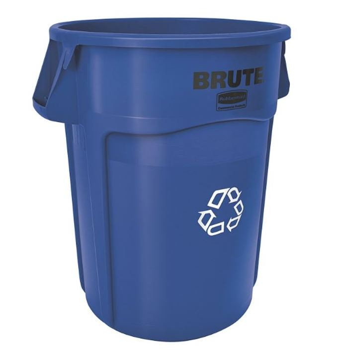 Rubbermaid 2632-73 Brute Recycling Container 32 gallon