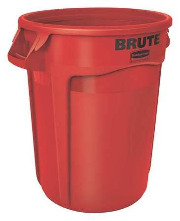 Rubbermaid 2632 Brute Container 32 gallon - Red
