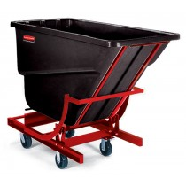 Rubbermaid 1059-43 Self-Dumping Hopper 1000 lbs