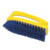 "Rubbermaid 6482 Iron-Shaped Scrub Brush 6"" Brush"