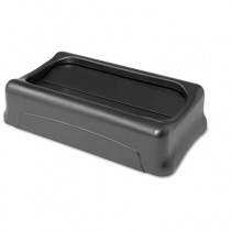Rubbermaid 2673-60 Slim Jim Lid for 3540 and 3541 - Black