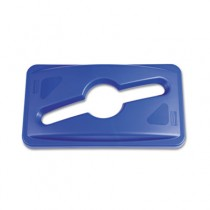 Rubbermaid 1788372 Single Stream Recycling Top for 3540 - Blue