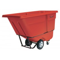 Rubbermaid 1315 Tilt Truck 1 CU YD, 1250 lbs - Red