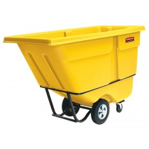 Rubbermaid 1305 Tilt Truck 1/2 CU YD 850 lbs - Yellow