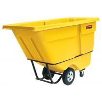 Rubbermaid 1315 Tilt Truck 1 CU YD 1250 lbs - Yellow