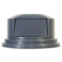 Rubbermaid 2657-88 Brute Dome Top Lid for 2655 55 gal Containers - Gray