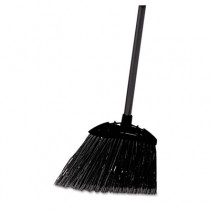 "Rubbermaid 6374 Lobby Pro Broom Poly Bristles 35"" Metal Handle"