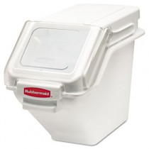 Rubbermaid 9G57 ProSave Shelf Ingredient Bins 5.4 gal - White