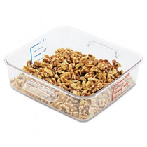 Rubbermaid 6302 SpaceSaver Square Containers 2qt -  Clear