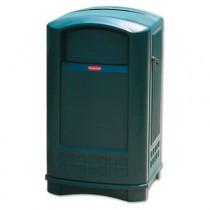 Rubbermaid 3964 Plaza Indoor/Outdoor Container 50 gallon - Green