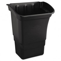 Rubbermaid 3353-88 Utility Cart Bin 8 gal - Black