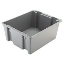 Rubbermaid 1731 Palletote Box 19 gal - Gray