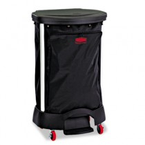 Rubbermaid 6350 Linen Hamper Bag - Black