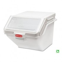 Rubbermaid 9G58 PROSAVE Shelf Ingredient Bin w/2 Cup Scoop