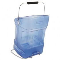 Rubbermaid 9F54 Ice Tote, 5.5gal - Blue - With Hook Assembly