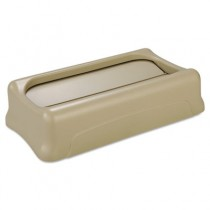 Rubbermaid 2673-60 Slim Jim Lid for 3540 and 3541 - Beige