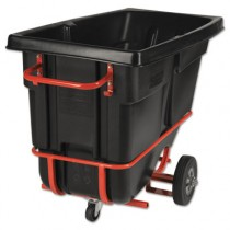Rubbermaid 1305-42 Forkliftable Tilt Truck 1/2 CU YD 850 lb Capacity