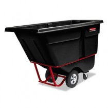 Rubbermaid 1305 Tilt Truck 1/2 CU YD 850 lbs - Black