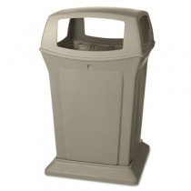 Rubbermaid 9173-88 Ranger Fire-Safe Container 45 gallon - Beige
