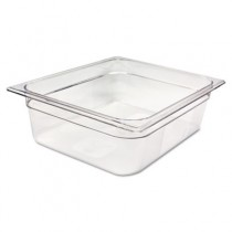 Rubbermaid 124P Cold Food Pan, 1/2 Size 7 7/8qt
