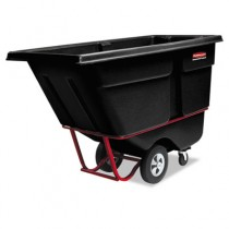 Rubbermaid 1315 Tilt Truck 1 CU YD, 1250 lbs - Black