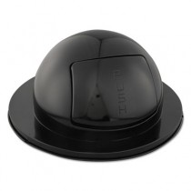 Rubbemraid 1855 Dome Top Lid - Black