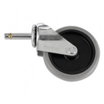Rubbermaid 6173-L1 Stem Caster for 6173 Janitor Carts