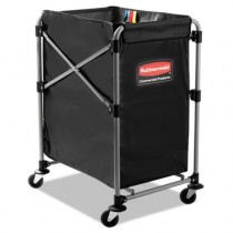 Rubbermaid 1881749 Collapsible X-Cart Steel, 4 Bushel Cart