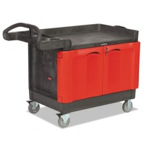 Rubbermaid 4532 TradeMaster Cart with 2-Door Cabinet