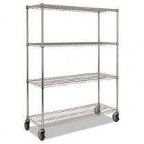 Rubbermaid 9G80 Mobile Rack for Prosave Shelf Ingredient Bins