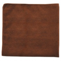 Rubbermaid 1863891 Multi-Purpose Microfiber Cloths 16x16 - 24 cloths - Brown