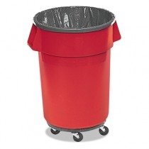 Rubbermaid 5008-88 Low Density 44 Gallon Can Liners, 200 bags - Clear