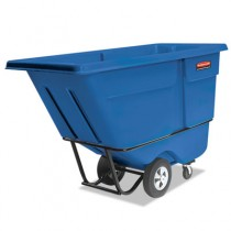 Rubbermaid 1315 Tilt Truck 1 CU YD, 1250 lbs - Blue